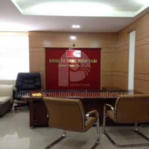 biển quảng cáo chữ nổi công ty Minh Thái
