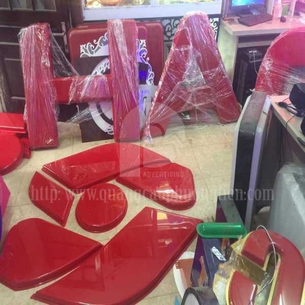Biển hút nổi logo công ty Sơn Hà