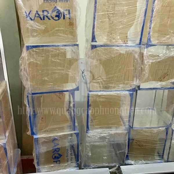 Sản xuất hòm phiếu mica cho hãng Karofi