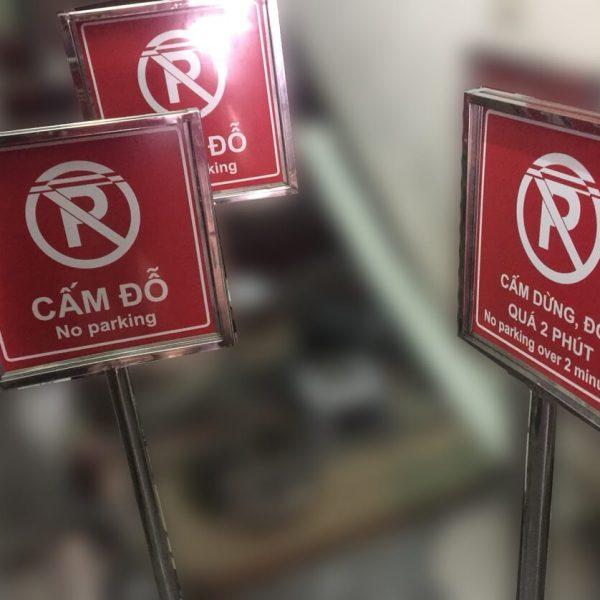 Biển cấm đỗ xe