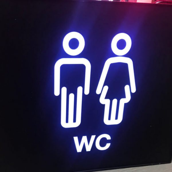 Biển phòng WC
