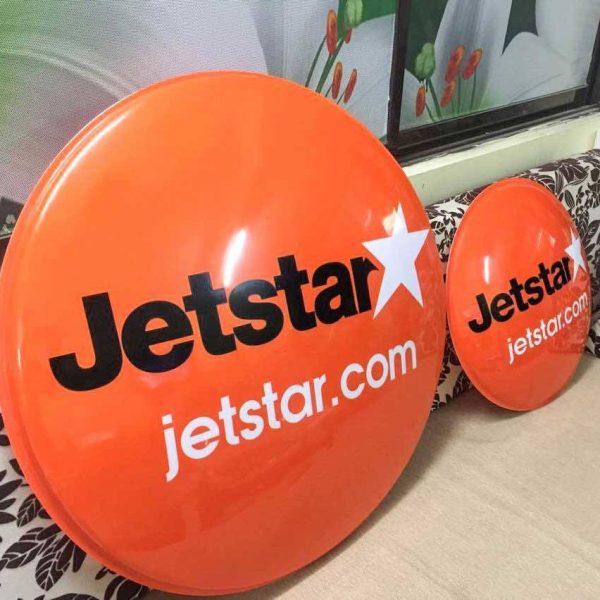 Biển hộp đèn hút nổi Jetstar